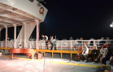 Σκηνικό θεατρικής παράστασης το ferry boat